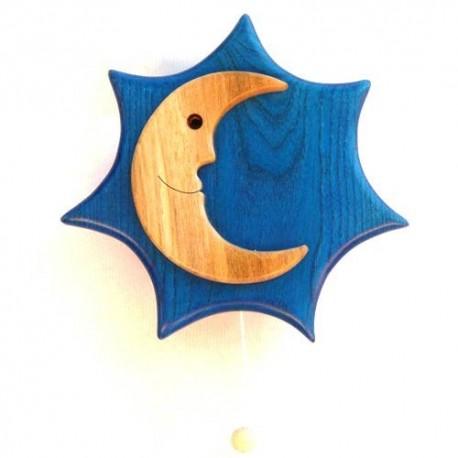 Caja de música sol y luna